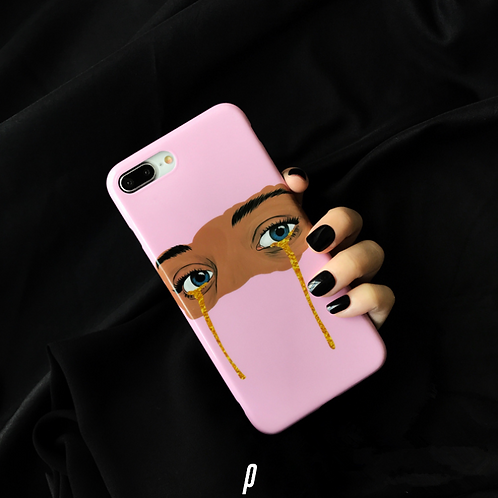 Glitter Tears iPhone Case