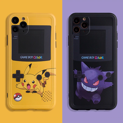 Pikachu & Gengar iPhone Case