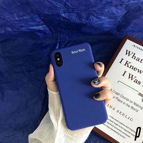 Blue Soul Rich iPhone Case