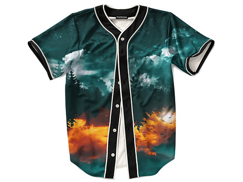 Forest Feel Baseball Jersey