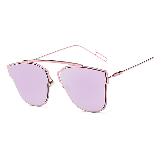 Badge Frame Sunglasses (5 Colors)