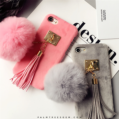 Cozy Fur iPhone Case