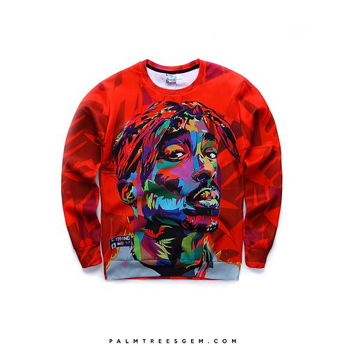 2Pac Graphic Sweatshirt