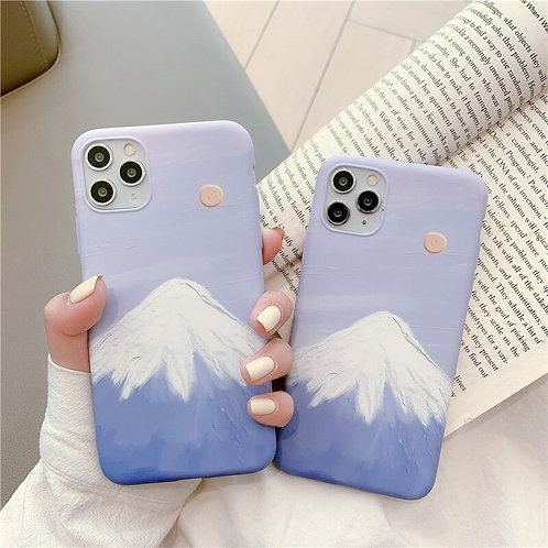 Painted Mountain iPhone Case