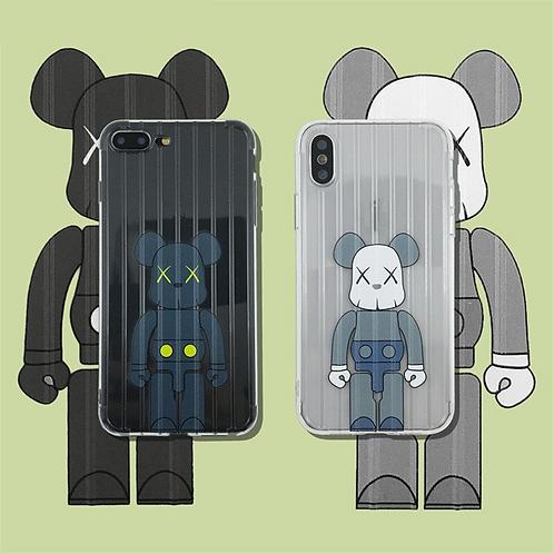 KAWS Clear iPhone Case