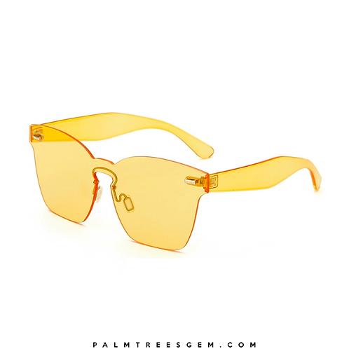 Cateye Rimless Sunglasses
