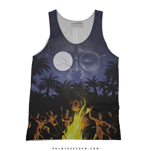 Palm Trees Graphic Tank Top