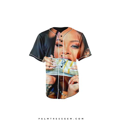 Rihanna Stack Baseball Jersey