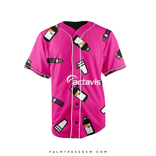 Actavis Baseball Jersey