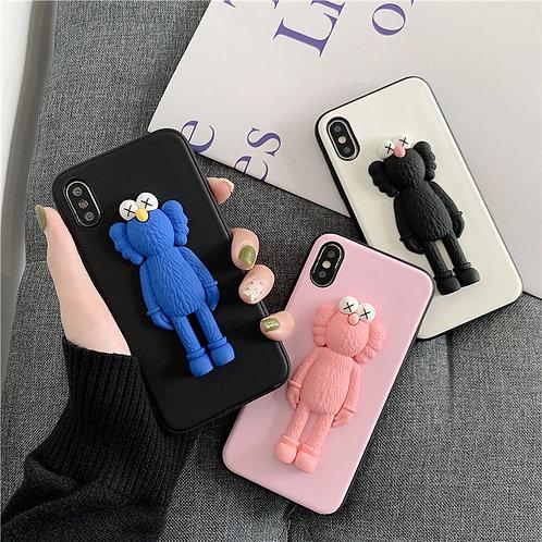 3D KAWS Sesame Street iPhone Case