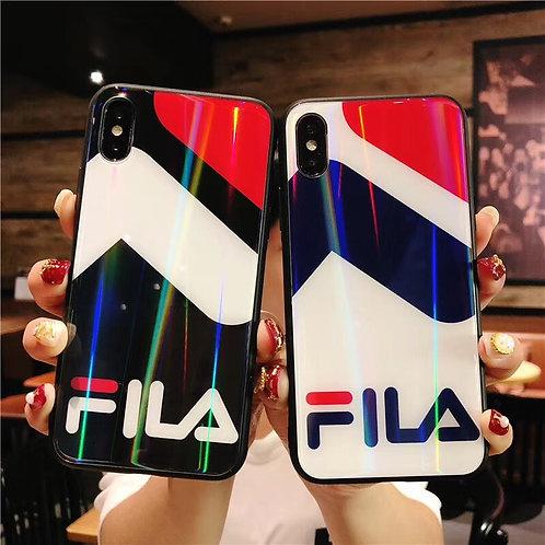 Custom Fila Shiny iPhone Case