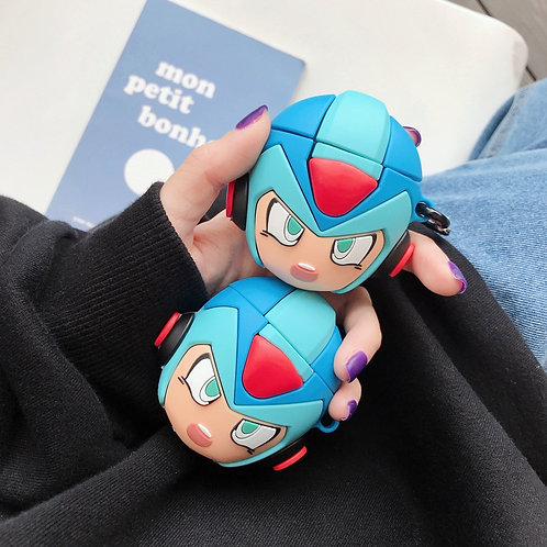 Mega Man AirPods Case