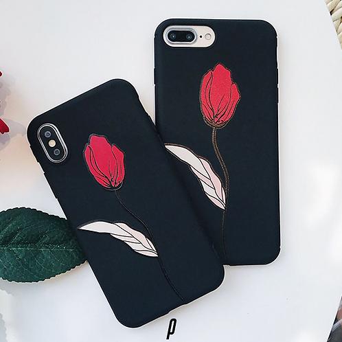3D Rose iPhone Case