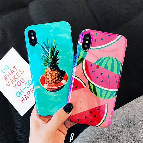 Fruit Glossy iPhone Cases
