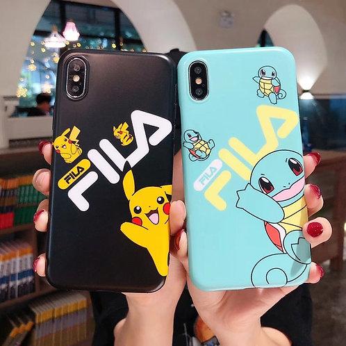 Pokemon Fila iPhone Cases