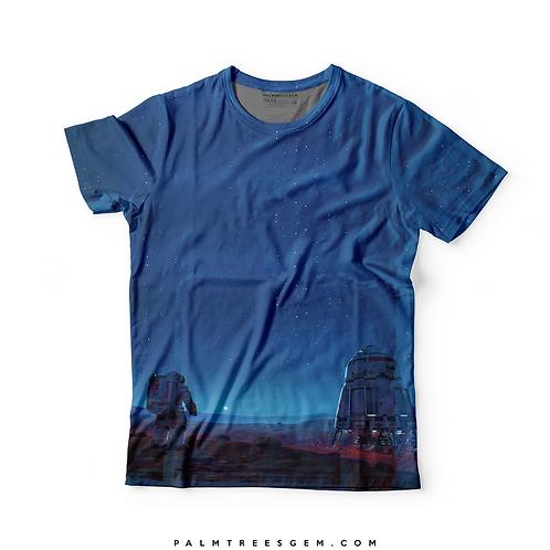 Space Landing 3D T-Shirt