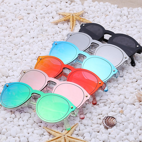 Candy Color Reflective Sunglasses