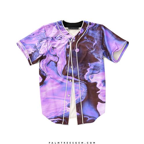 Purple Waves Baseball Jersey