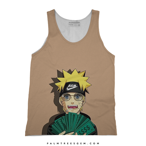 Naruto Cash Tank Top