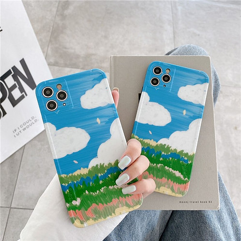 Painted View iPhone Case