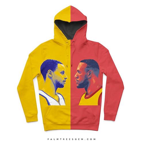 Curry vs LeBron Hoodie