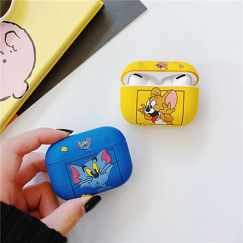 Matte Tom & Jerry AirPods Case