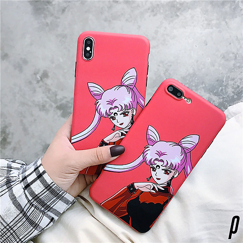 Black Lady Sailor Moon iPhone Case