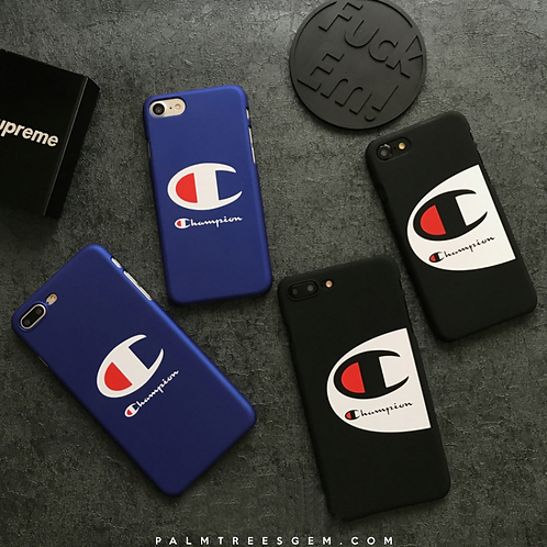 Champion Matte iPhone Cases