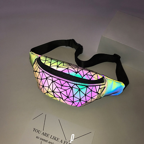Fluorescent Reflective Fanny Pack