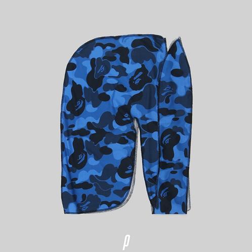 Blue Camo Bape Durag