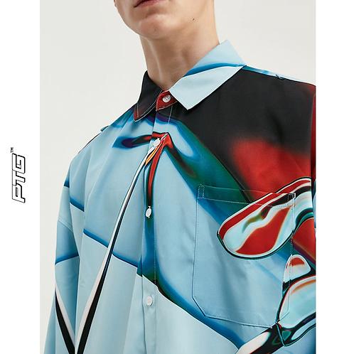 Abstract Drip Shirt