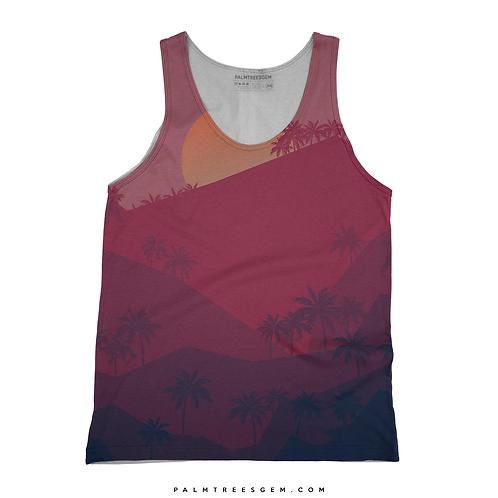 Palm Sunrise Tank Top