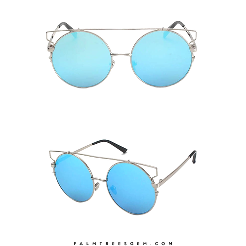 Flat Cateye Sunglasses