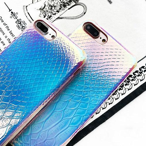 Crocodile Glossy iPhone Case