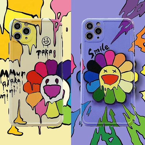 Murakami Flower iPhone Case
