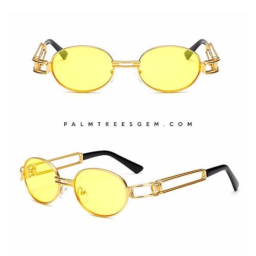 Gold Linked Sunglasses
