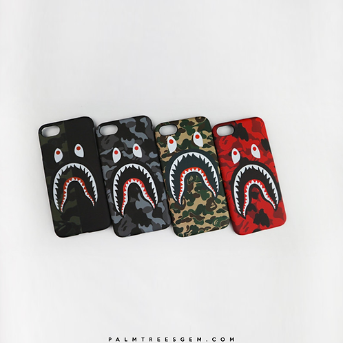 BAPE Shark Camo iPhone Case