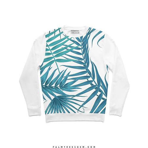 Blue Leaves Sweatshirt