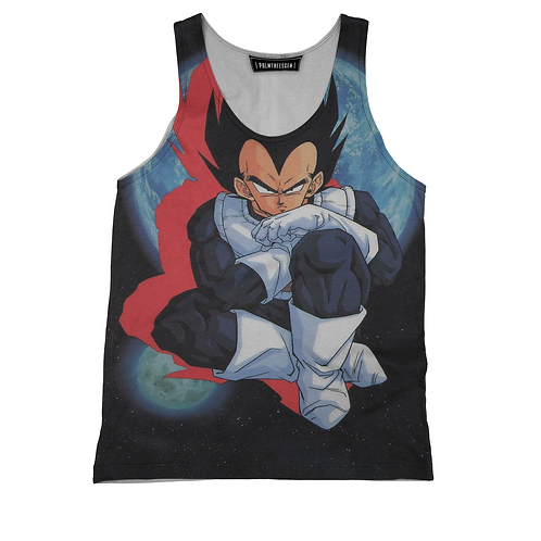 Vegeta Space Tank Top