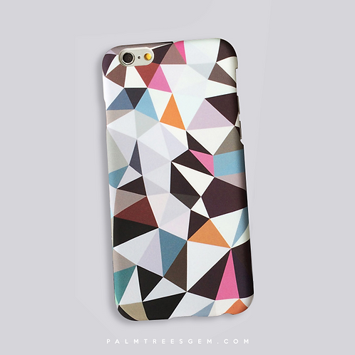 Solid Polygon iPhone Case
