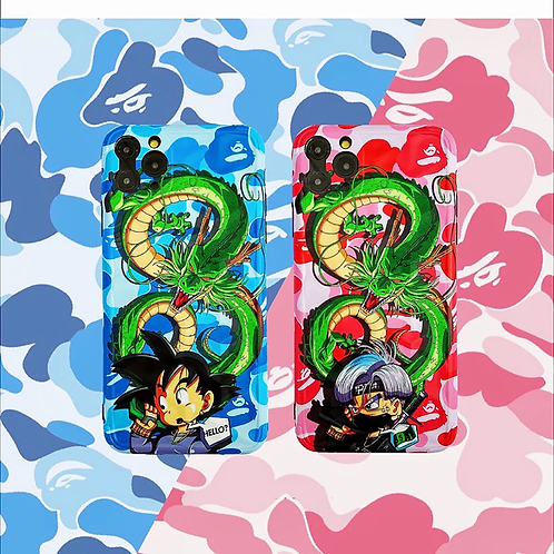 DBZ Shenron Bape iPhone Cases