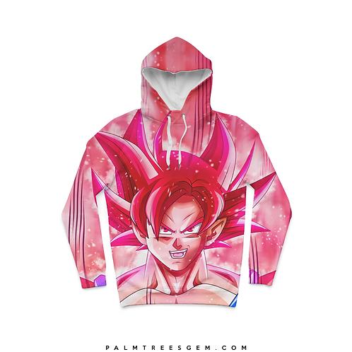 Super Saiyan Red Hoodie