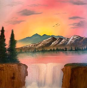 Sunset Falls