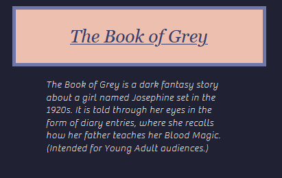 The Book of Grey