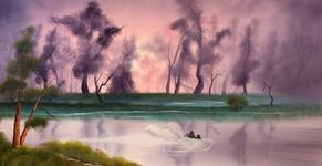 Dawn's Pond