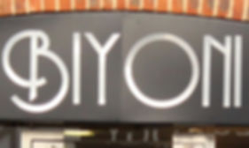 Photo of Biyoni Hair signage