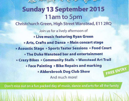Visit our braiding bar at the Wanstead Festival on 13 September 2015