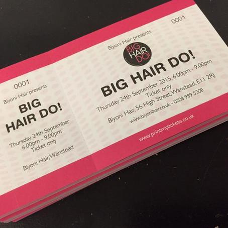 Biyoni Hair presents Big Hair Do!