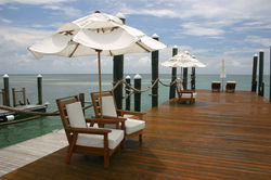 Dock at a resort