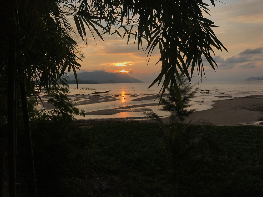 Sunset over Langkawi